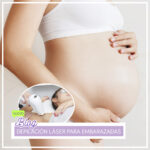 La guía de depilación láser para embarazadas